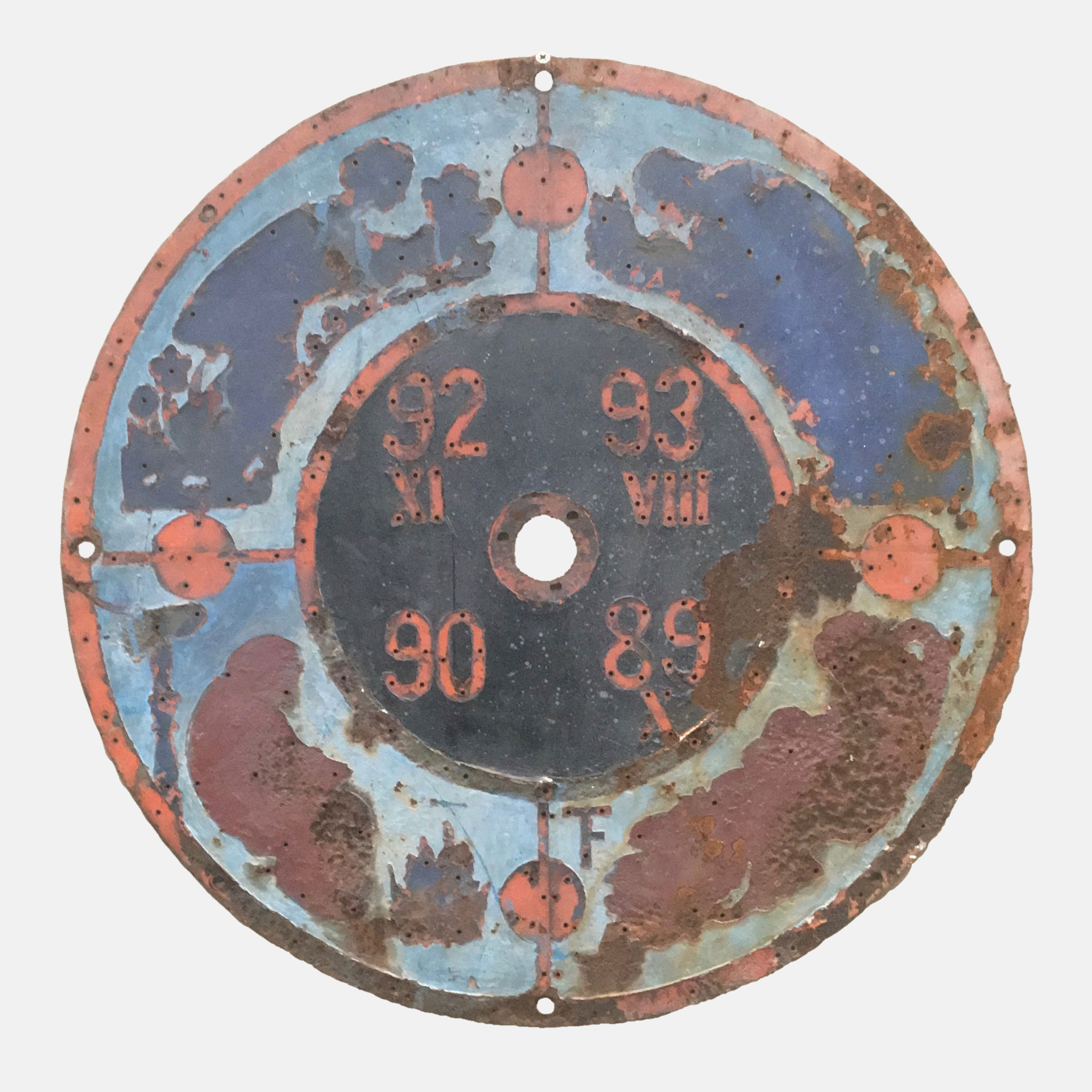 Zimmer Tower Dial - The Four Seasons