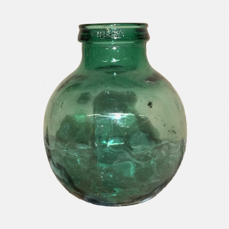 Vintag Green Vase Claudiacollections