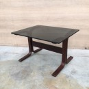 Bend wood side table