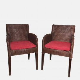 "Pair Vincent Sheppard ""Henry"" armchairs"
