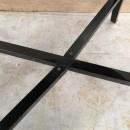 1980's Black side table