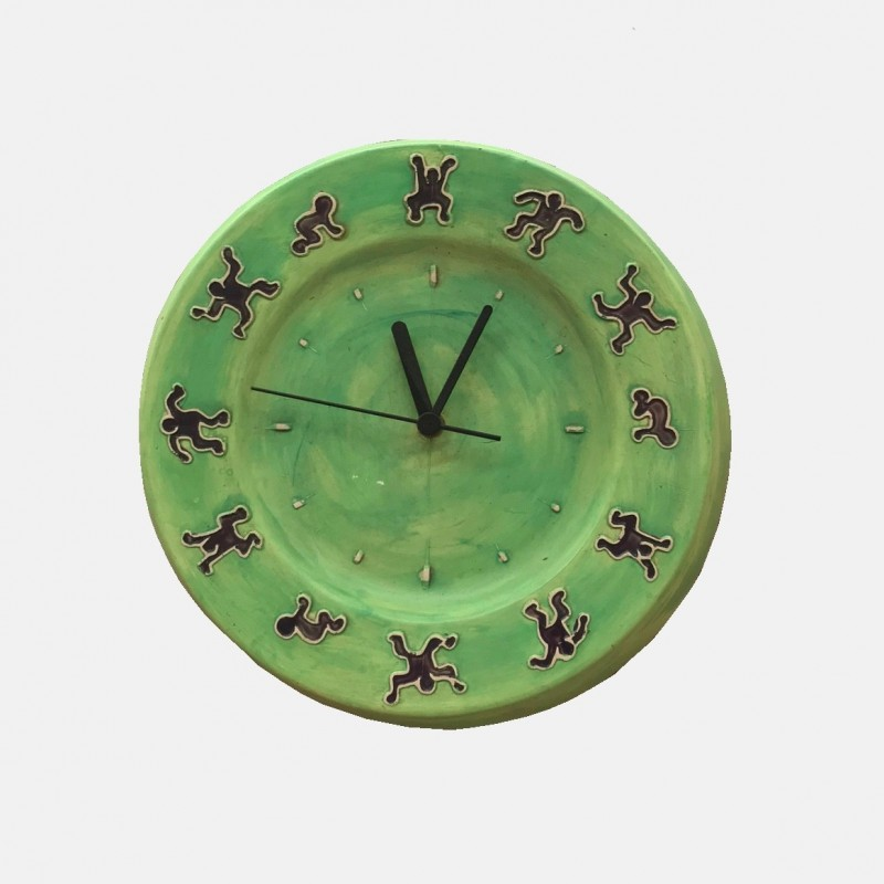 Keith Haring Clock Claudiacollections