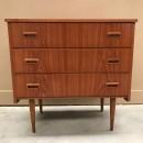 Danish teak chest of drawers