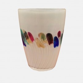 Tulip vase by Glasfachschule -Limited Edition