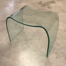 Glass ghost chair by Fiam