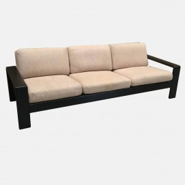 Bend oak 3 seat sofa SOLD