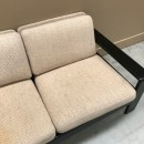 Bend oak 3 seat sofa