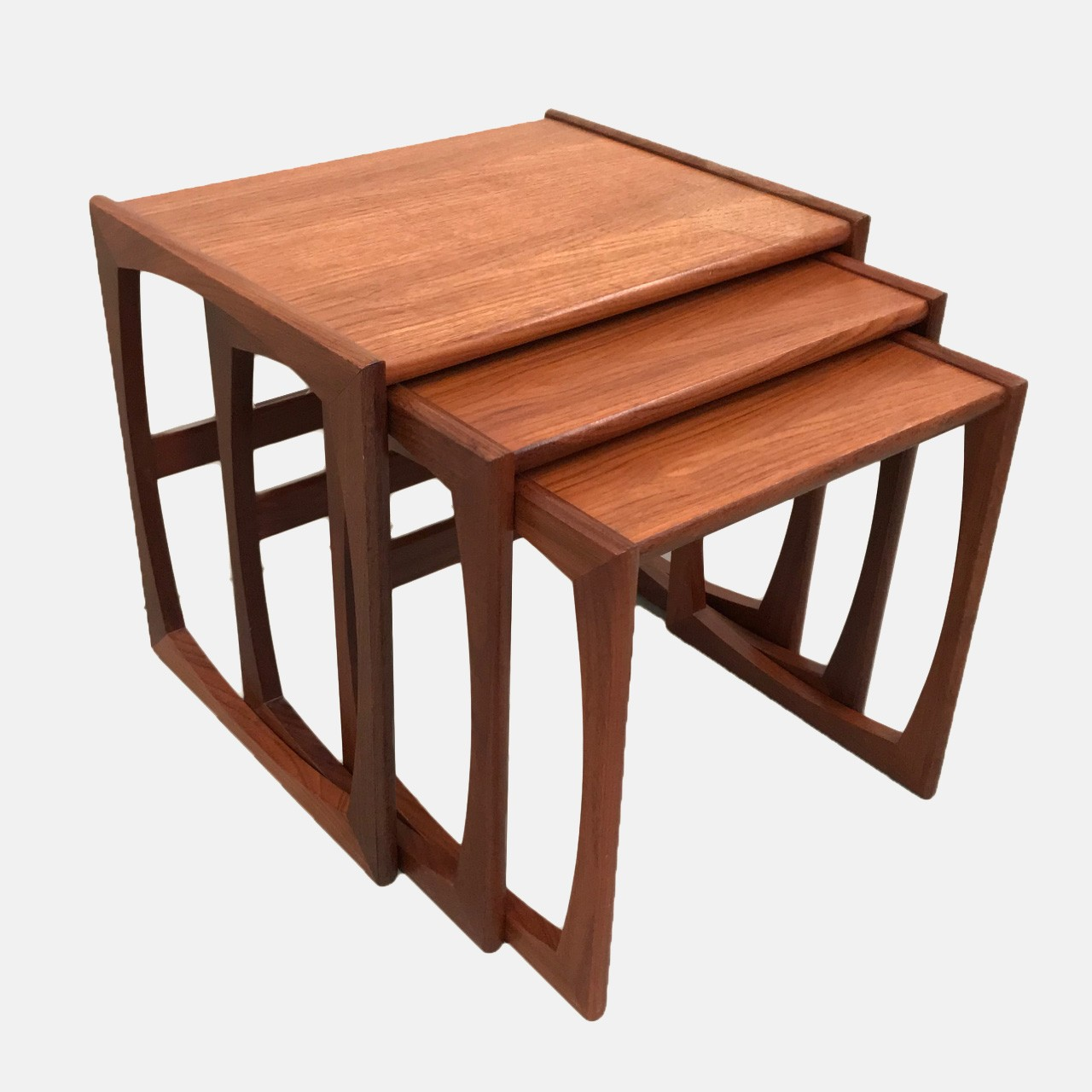 G Plan nesting tables by Victor Wilkins