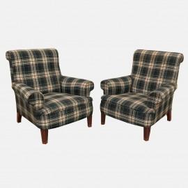 Pair Louis XV armchairs