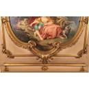 Pair Italian Rococo paintings