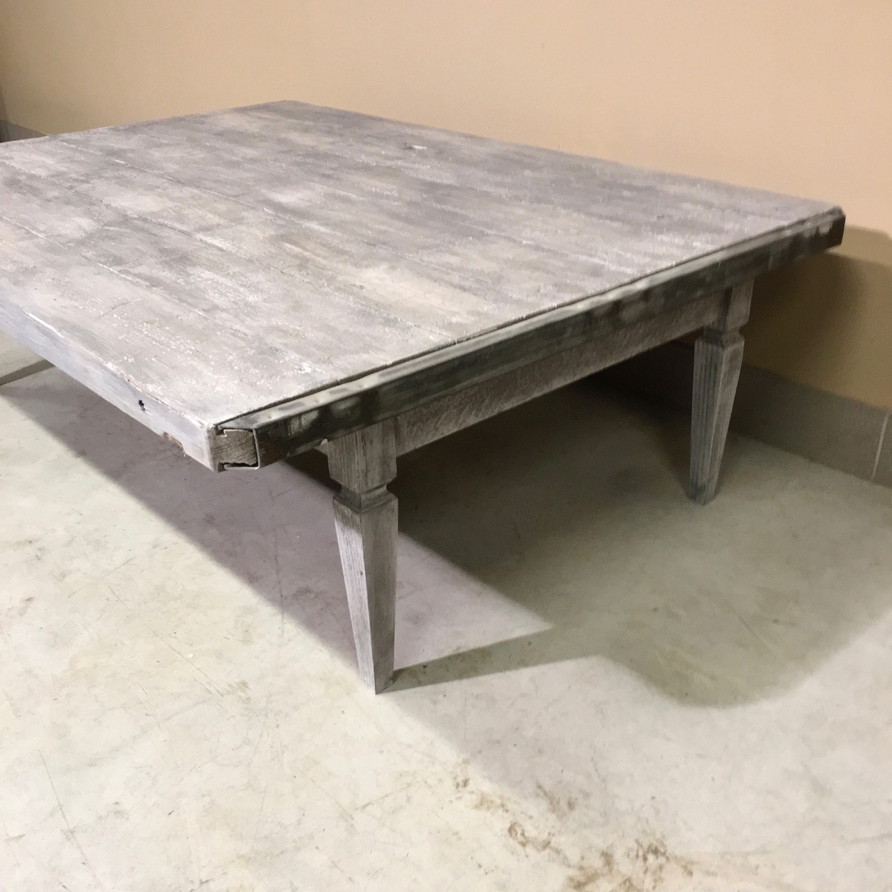 brick pallet coffee table - claudia collections
